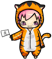 Year of the Tiger ver.3 by Kerushiii