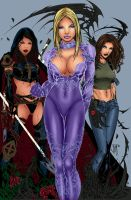 Unfinished 02 Top Cow Babes by Bertilsdotter