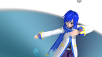 Vocaloid MMD-Bad Romance (V3 Kaito) by Nintendraw