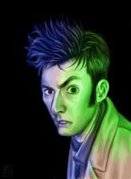 10th Doctor by robotbreath