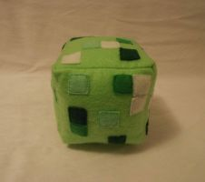 Minecraft Creeper Side View by o0Hail0o