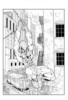 Spiderman Splash 2 by devgear
