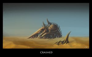 crashed by Monsaic
