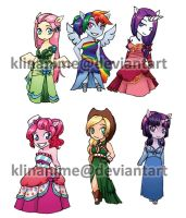 MLP: dress update by klinanime