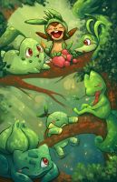 Grass starters updated with chespin