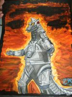 Mechagodzilla by Gothic-Sorrow