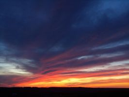 Sunset Over Otisco by BAC-of-all-trades
