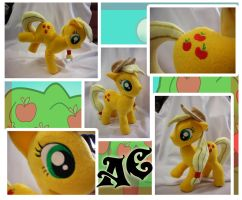 Applejack Plush by Val-Hasseth