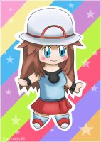 Pokemon Trainer-Chibi Blue by Km92