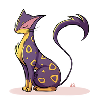 Pokeddexy Challenge Day 02 - Liepard! by IncreasinglyCoherent