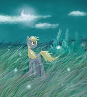 Derpy in a strange place #2 by AstraNordy