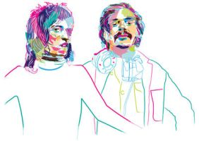 The Mighty Boosh by murtaghj