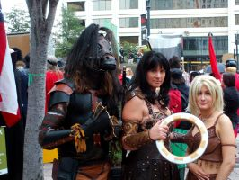 Me, Xena and Gabrielle by hyperjet