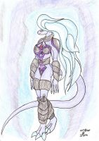 You're the Queen, but i am the god. by WardragonSturm