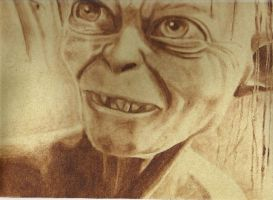 Gollum by Diarmaida