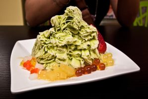 Green Tea Snow Ice by Mgbedt420