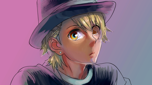 Another Ren Kagamine colored by me by pho3nixdown
