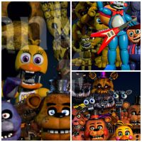 Will we seen those Animatronics in the update? by Pferdelover12