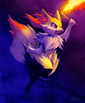 Braixen by falvie