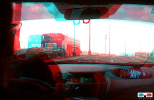 On the Open Road-anaglyph by stinglacson