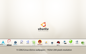 GNU-Linux Distros Wallpapers by deviantdark