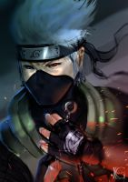 Kakashi Speed Paint by Kevin-Glint