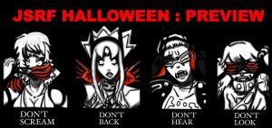 JSRF HALLOWEEN : PREVIEW by PinkHeart-Manoon
