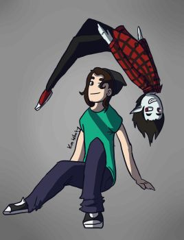 The Vampire and the Boy by TidalDeimos