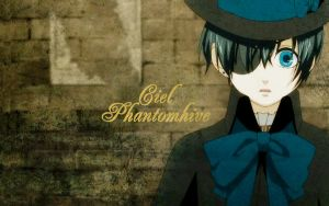 Ciel Phantomhive Wallpaper by shobehikaru