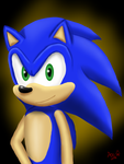 :Special: Sonic Portrait by Sonic-Spyro-Maestro