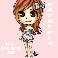 My name is Patricia by suzumecreates