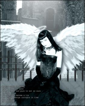 Goth Angel by Rayfe