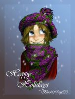Happy Holidays from Me by BlackMage339