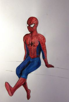 Our friendly neighborhood Spider-Man! by Raagane