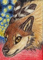 Beauty has a name -ACEO-TRADE- by Equive