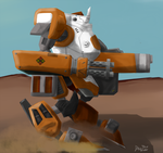 Massive armor Unit - Catapult by Keilink
