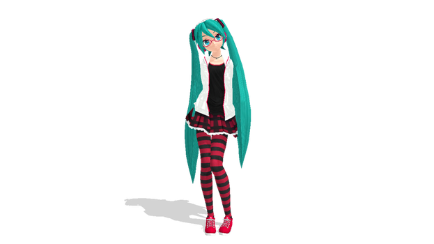 DT Natural Miku by Alelokk