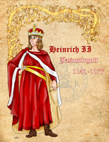 Heinrich Jasomirgott of Austria by Pelycosaur24