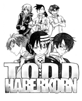 Tribute to Todd Haberkorn by Flooze