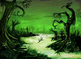 The swamp of no return. by Kalopz