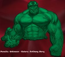 Hulk Colored by Anmph