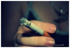 Cigarette Burning by kezzoXrawks