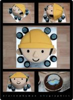 Bob the Builder Cake by elainewhy