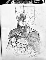 Batman MCBA CON sketch by JoeyVazquez