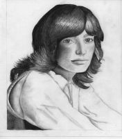 Creepy 70's girl by othersescape