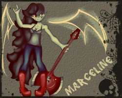 AT: Marceline Wallpaper by MikoLol