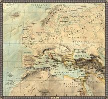Europe in 325 B.C. by JaySimons