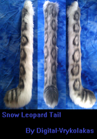 Snow Leopard Tail by Radioactimals