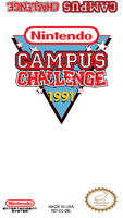 Nintendo Campus Challenge 1991 Label by vladictivo