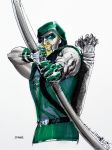 Green Arrow marker by cehnot